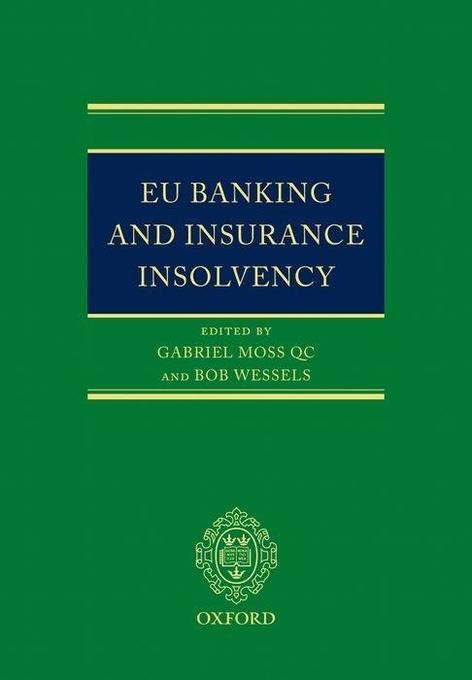 EU Banking and Insurance Insolvency als Buch