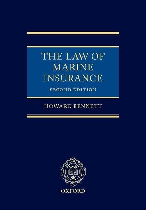Law of Marine Insurance als Buch