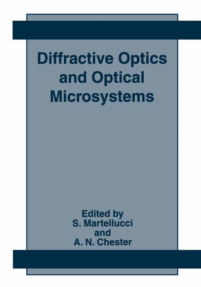 Diffractive Optics and Optical Microsystems als Buch