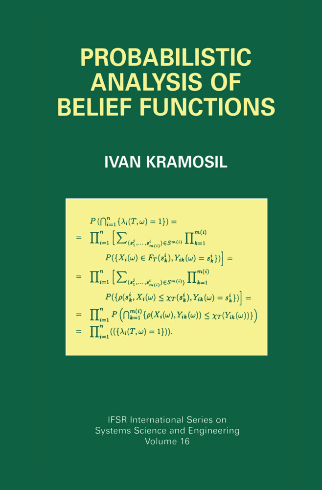 Probabilistic Analysis of Belief Functions als Buch
