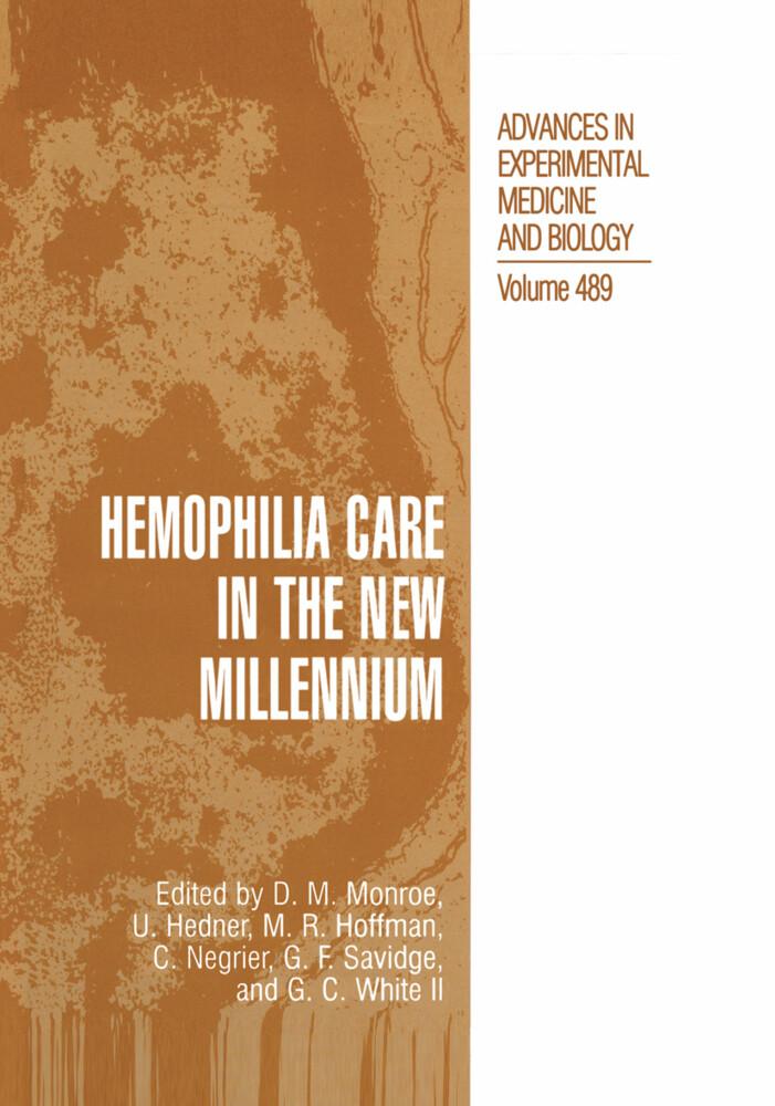 Hemophilia Care in the New Millennium als Buch