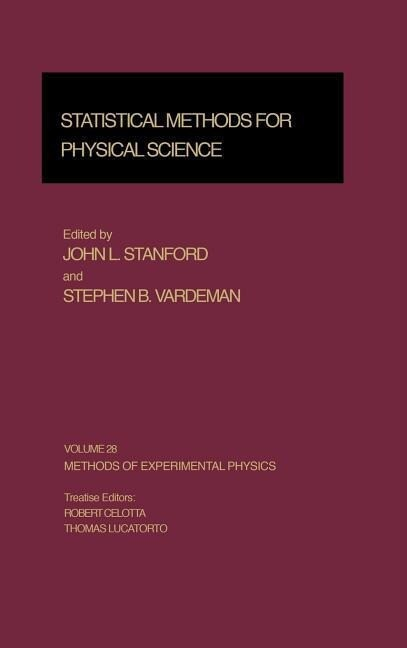 Statistical Methods for Physical Science als Buch