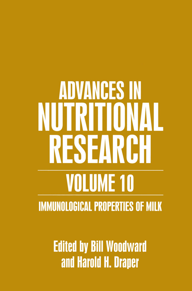 Advances in Nutritional Research Volume 10 als Buch