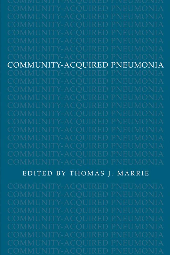 Community-Acquired Pneumonia als Buch