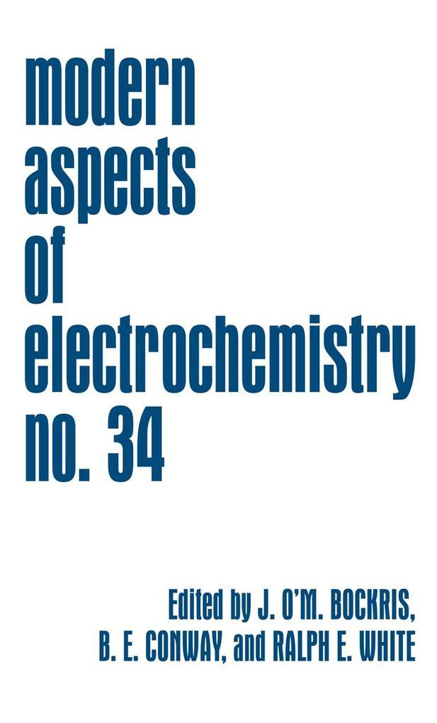 Modern Aspects of Electrochemistry 34 als Buch