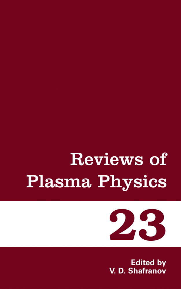 Reviews of Plasma Physics als Buch