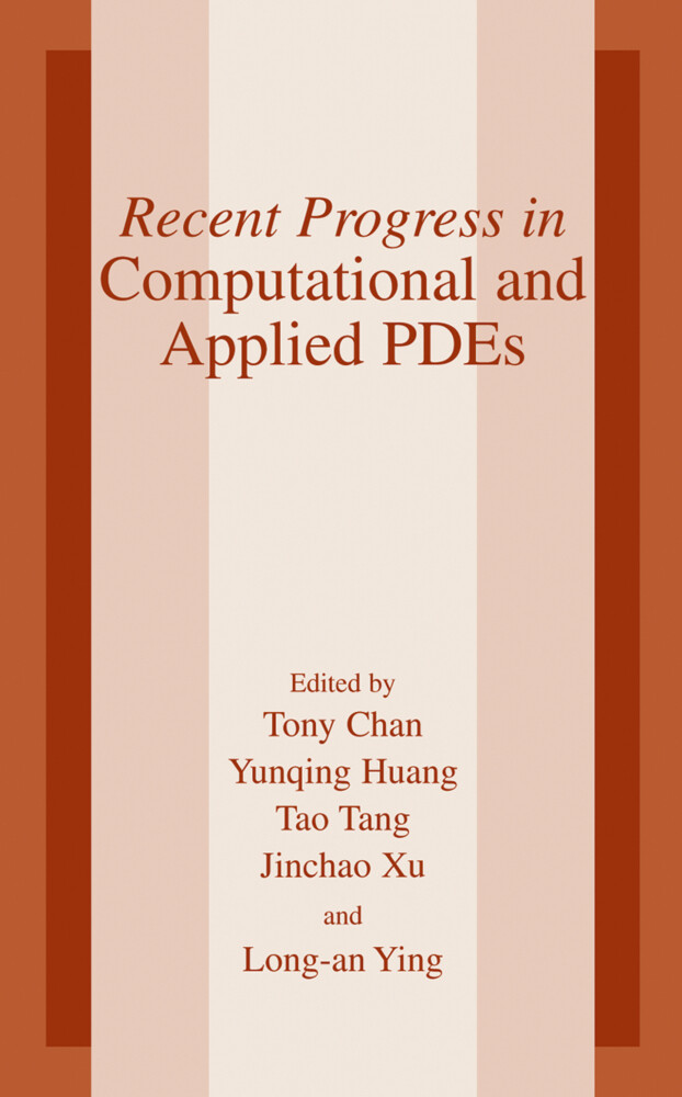 Recent Progress in Computational and Applied PDES als Buch
