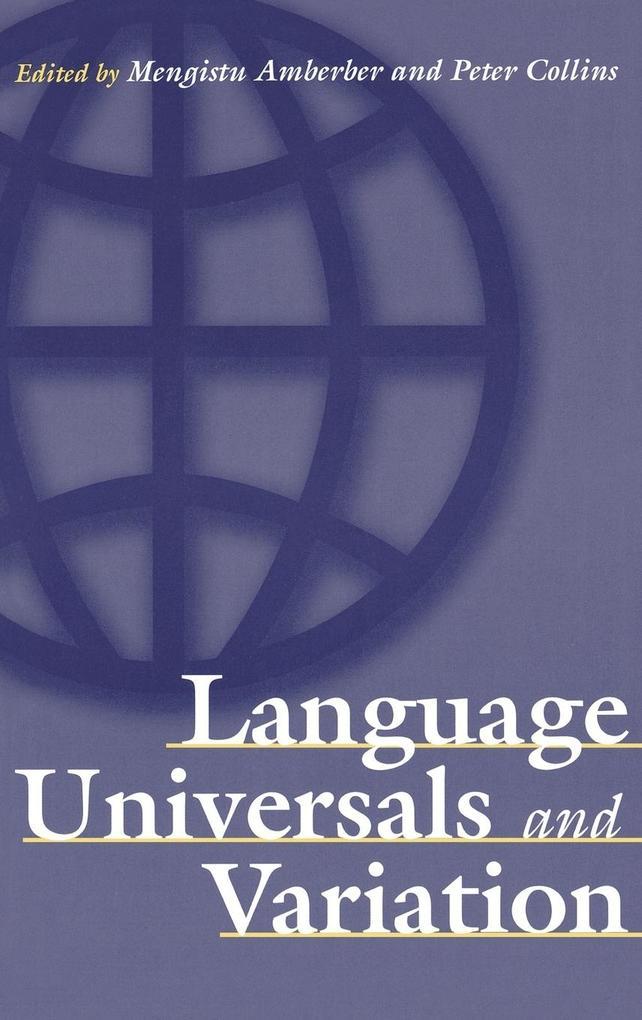 Language Universals and Variation als Buch