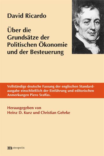 Über die Grundsätze der politischen Ökonomie und der Besteuerung als Buch