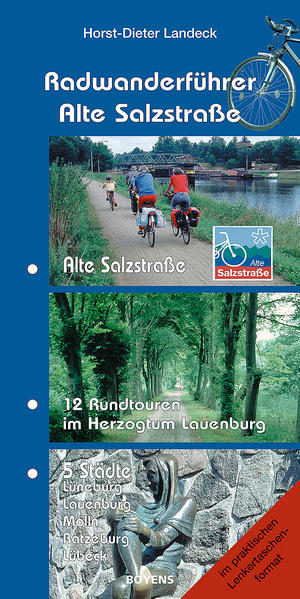 Radwanderführer Alte Salzstraße als Buch