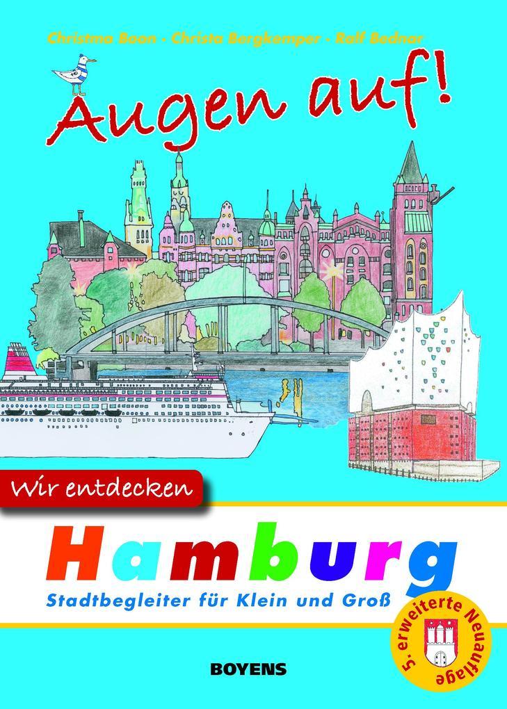 Augen auf - wir entdecken Hamburg als Buch
