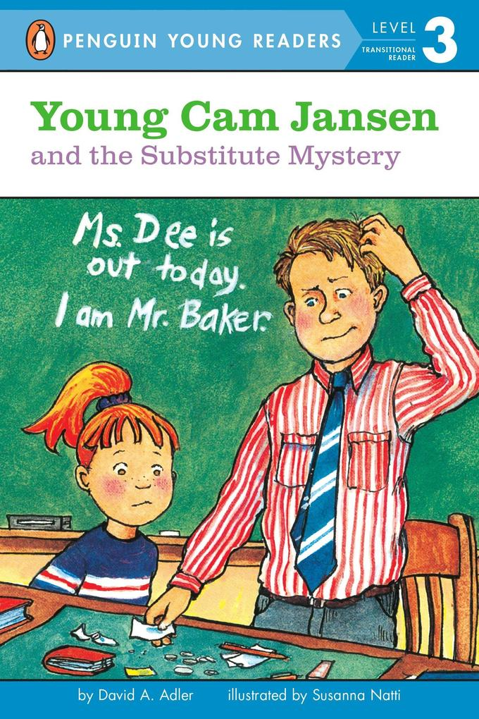 Young CAM Jansen and the Substitute Mystery #11 als Taschenbuch