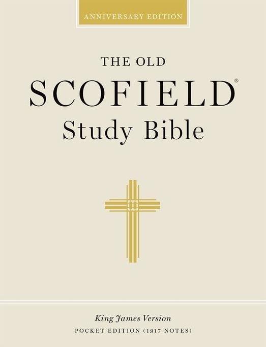 Old Scofield Study Bible-KJV-Pocket als Buch