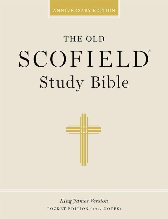 Old Scofield Study Bible-KJV-Pocket als Buch
