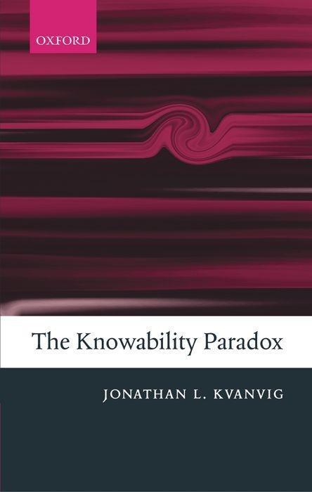 The Knowability Paradox als Buch