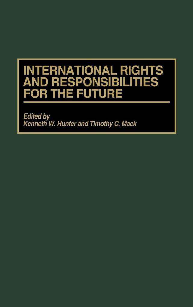 INTL RIGHTS & RESPONSIBILITIES als Buch