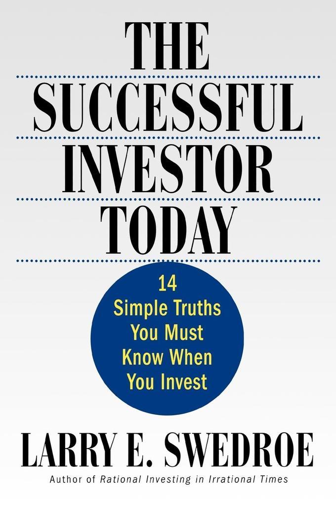The Successful Investor Today als Taschenbuch