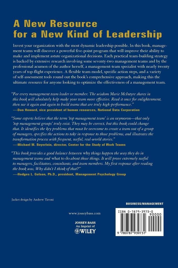 Management Team Handbook als Buch