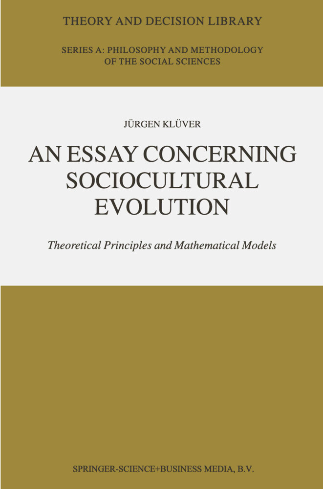 An Essay Concerning Sociocultural Evolution als Buch
