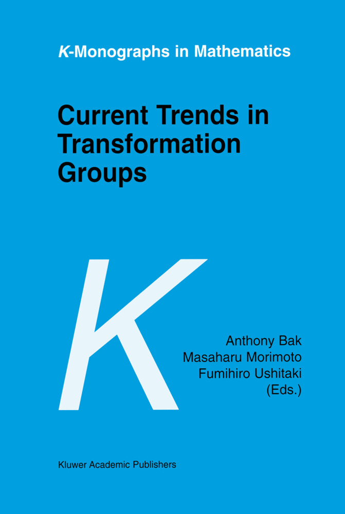 Current Trends in Transformation Groups als Buch