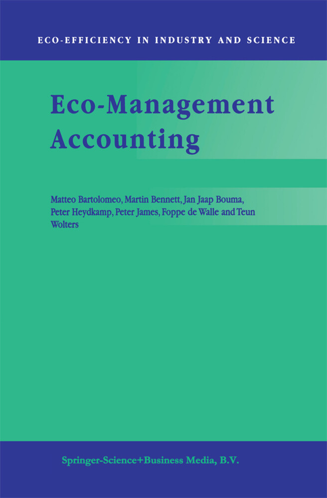 Eco-Management Accounting als Buch