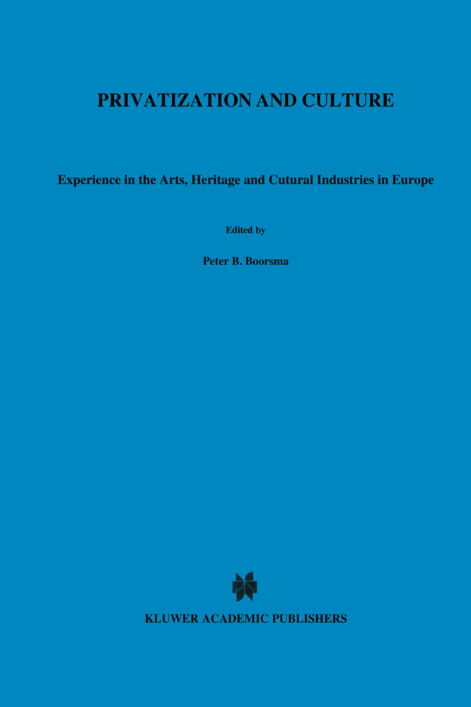 Privatization and Culture als Buch