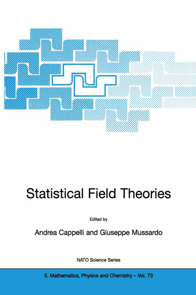 Statistical Field Theories als Buch