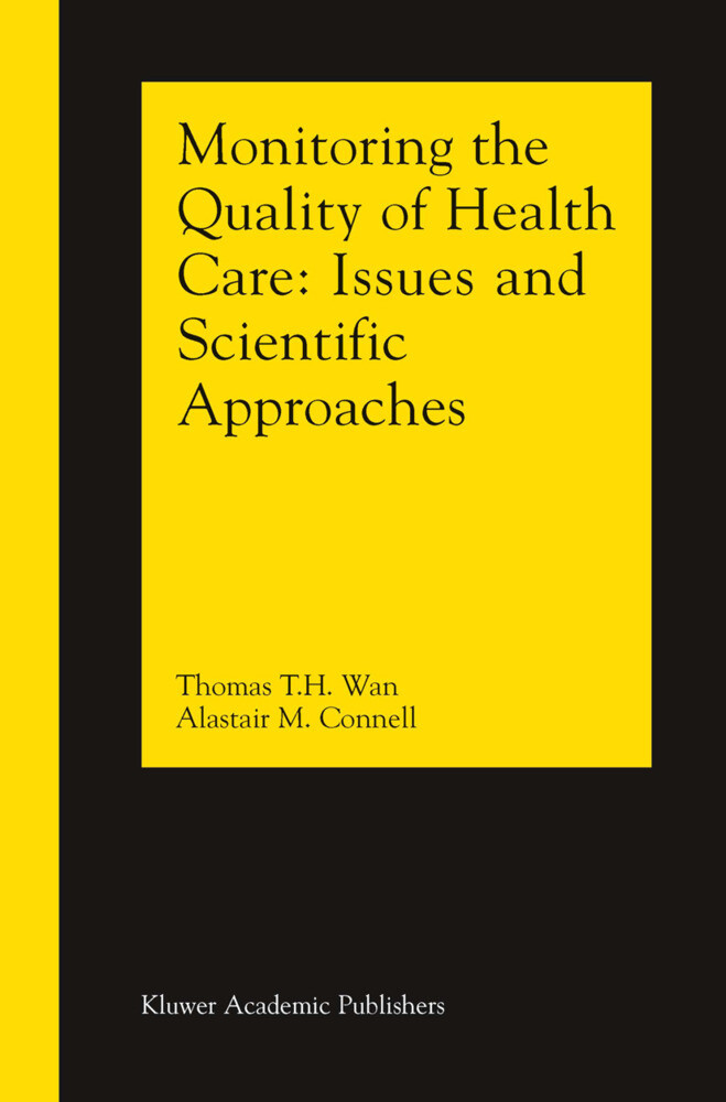 Monitoring the Quality of Health Care als Buch