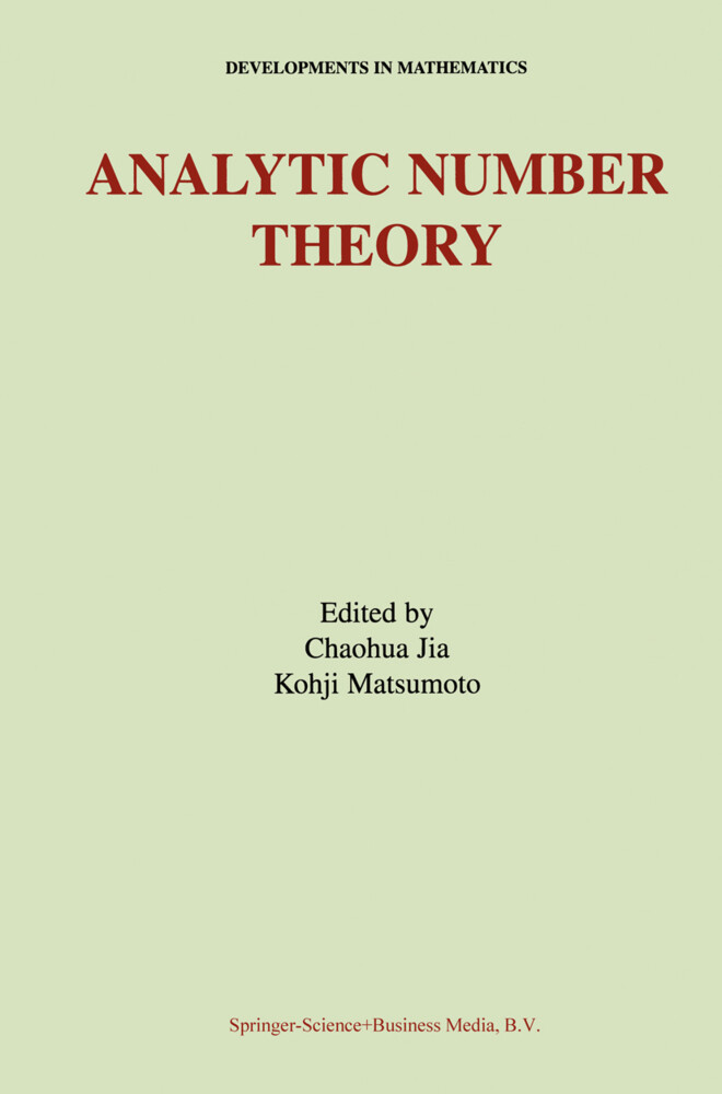 Analytic Number Theory als Buch