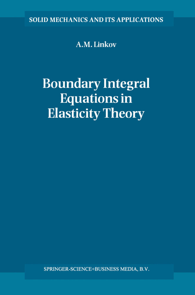 Boundary Integral Equations in Elasticity Theory als Buch