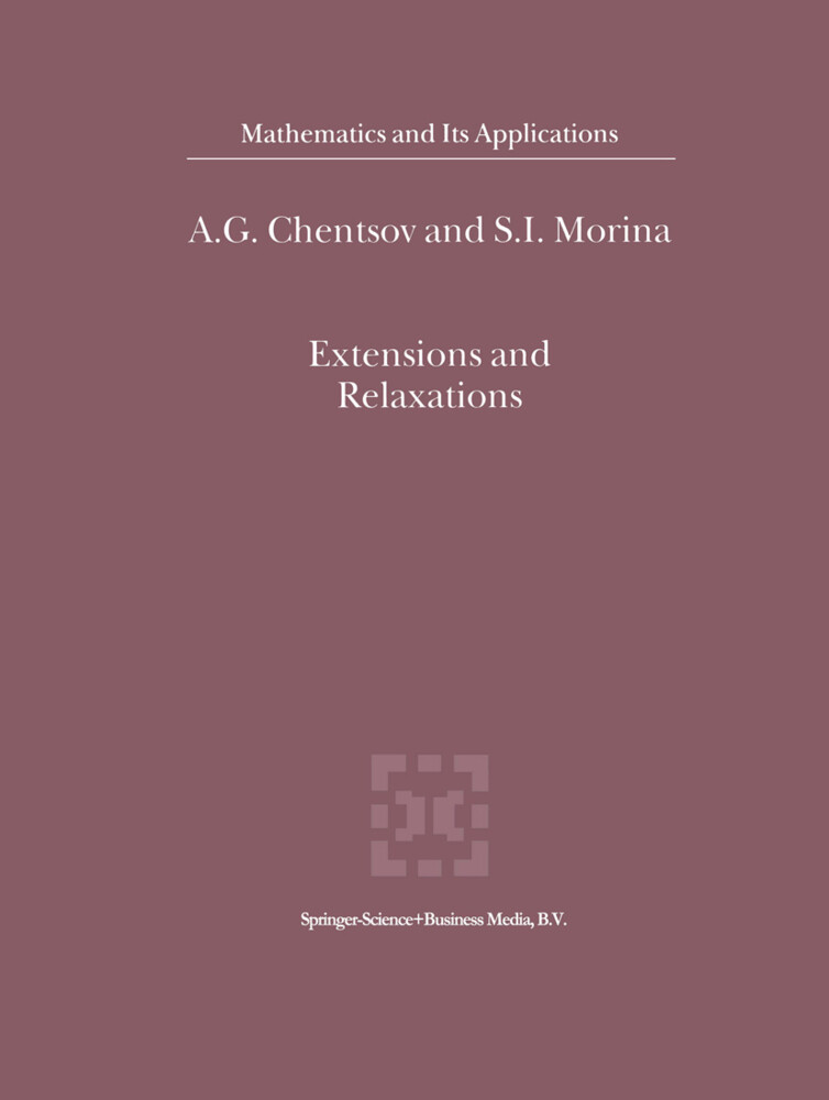 Extensions and Relaxations als Buch