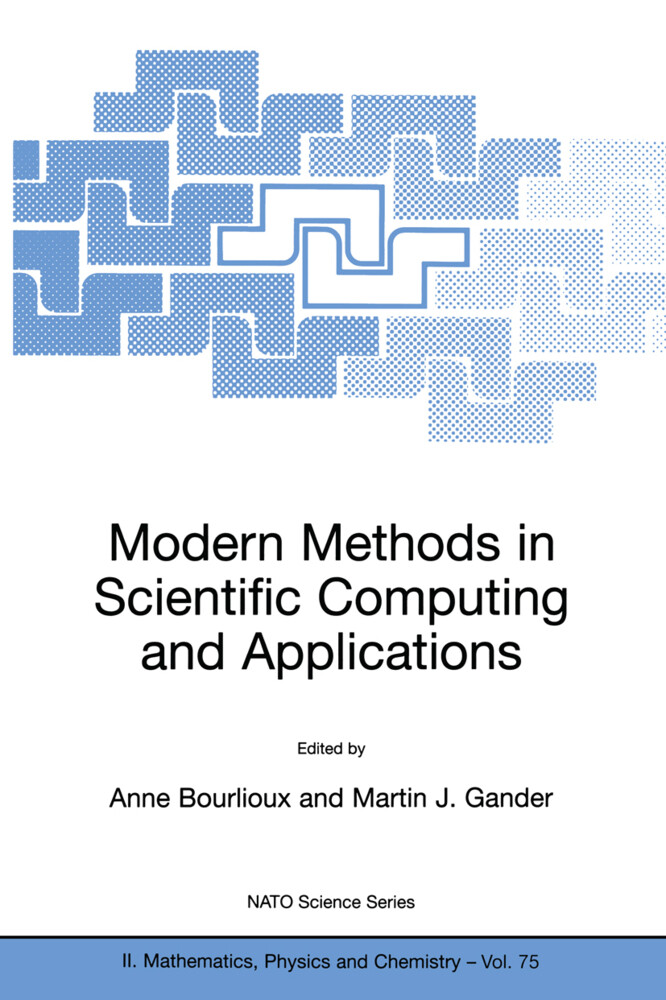Modern Methods in Scientific Computing and Applications als Buch