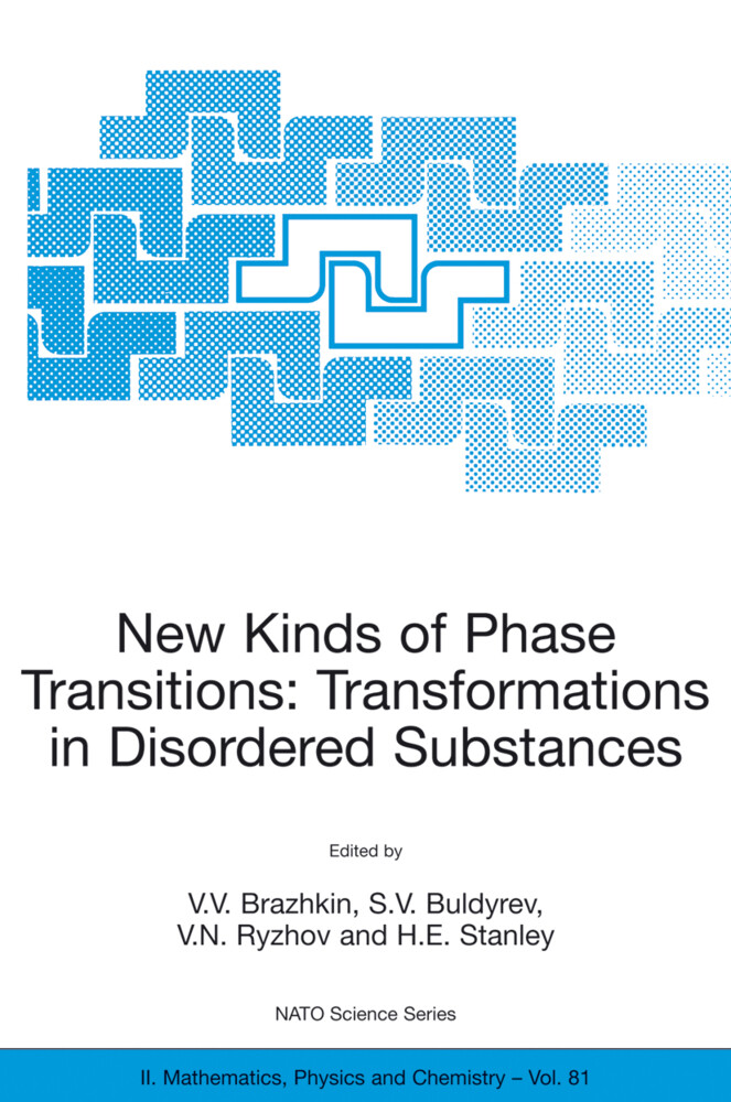 New Kinds of Phase Transitions: Transformations in Disordered Substances als Buch