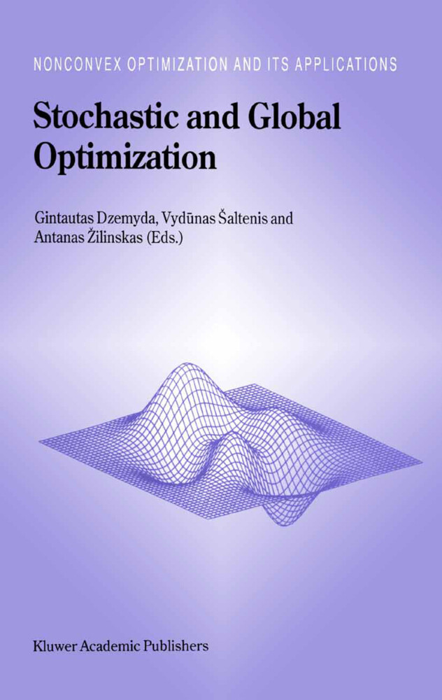 Stochastic and Global Optimization als Buch