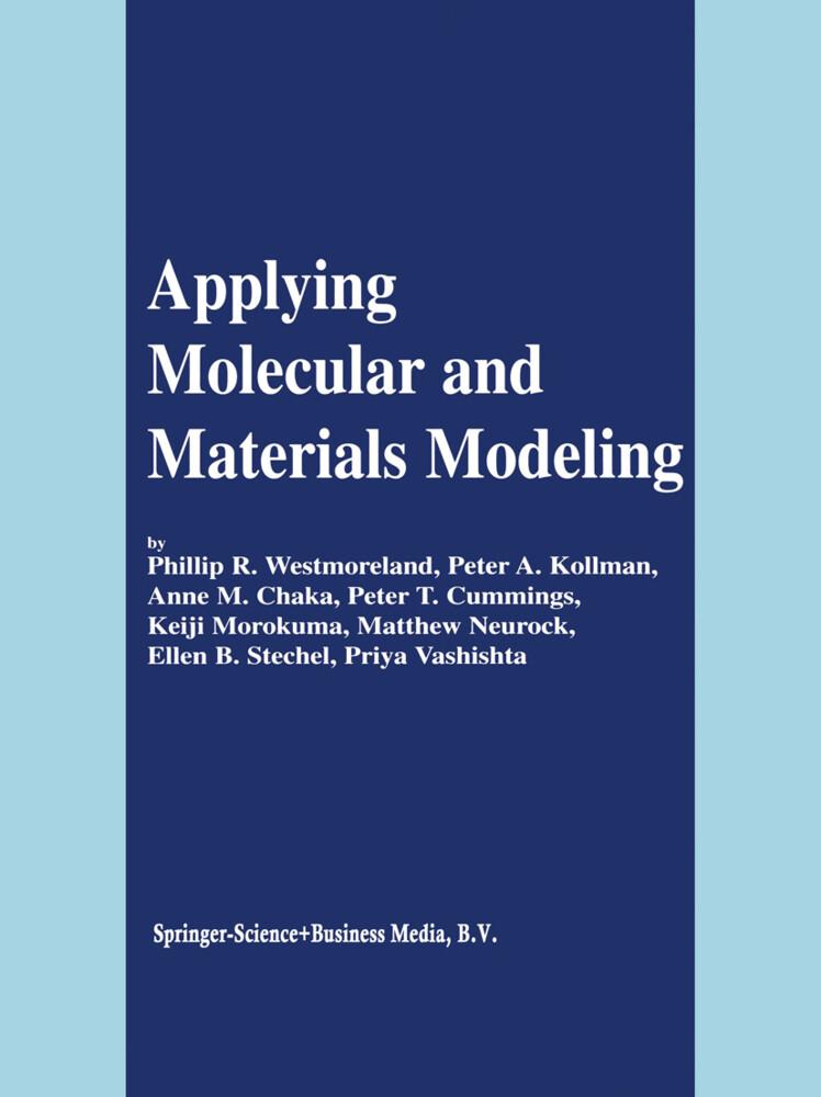 Applying Molecular and Materials Modeling als Buch