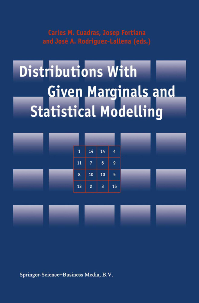 Distributions With Given Marginals and Statistical Modelling als Buch