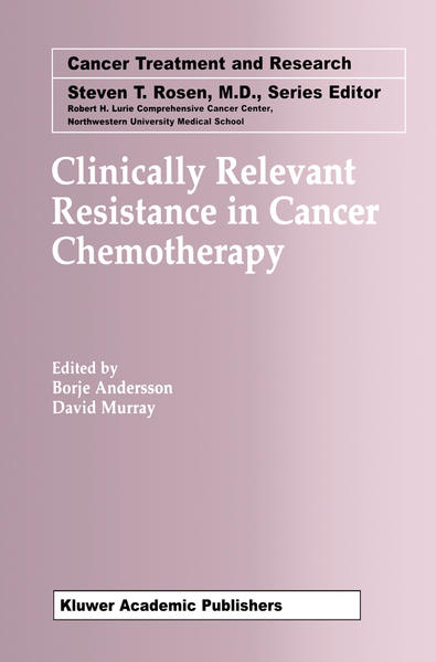 Clinically Relevant Resistance in Cancer Chemotherapy als Buch