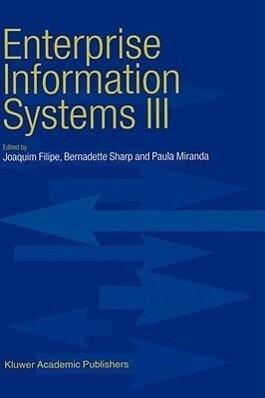Enterprise Information Systems III als Buch