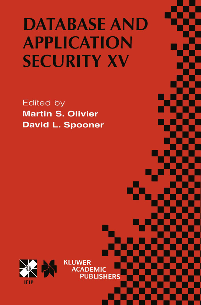 Database and Application Security XV als Buch