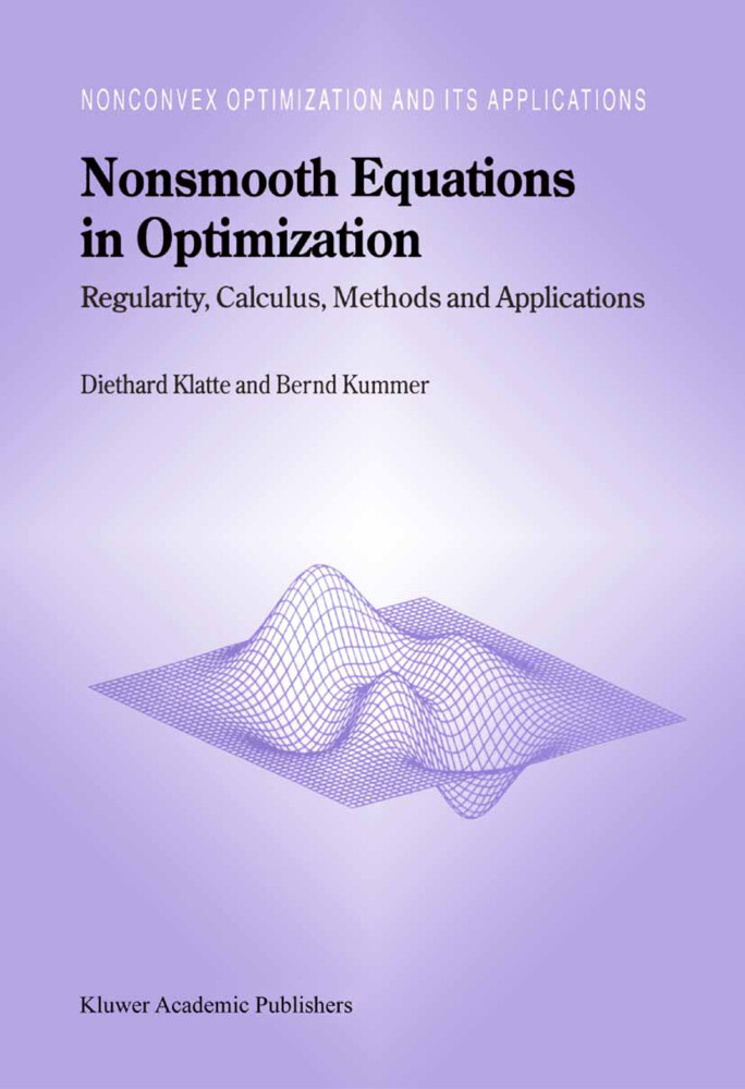 Nonsmooth Equations in Optimization als Buch