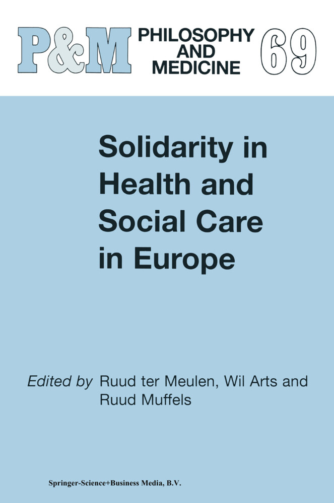 Solidarity in Health and Social Care in Europe als Buch