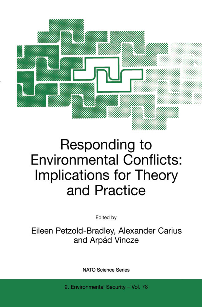 Responding to Environmental Conflicts: Implications for Theory and Practice als Buch
