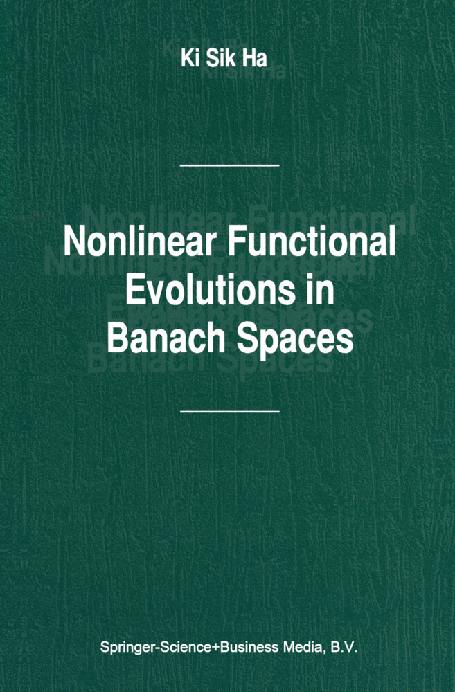 Nonlinear Functional Evolutions in Banach Spaces als Buch