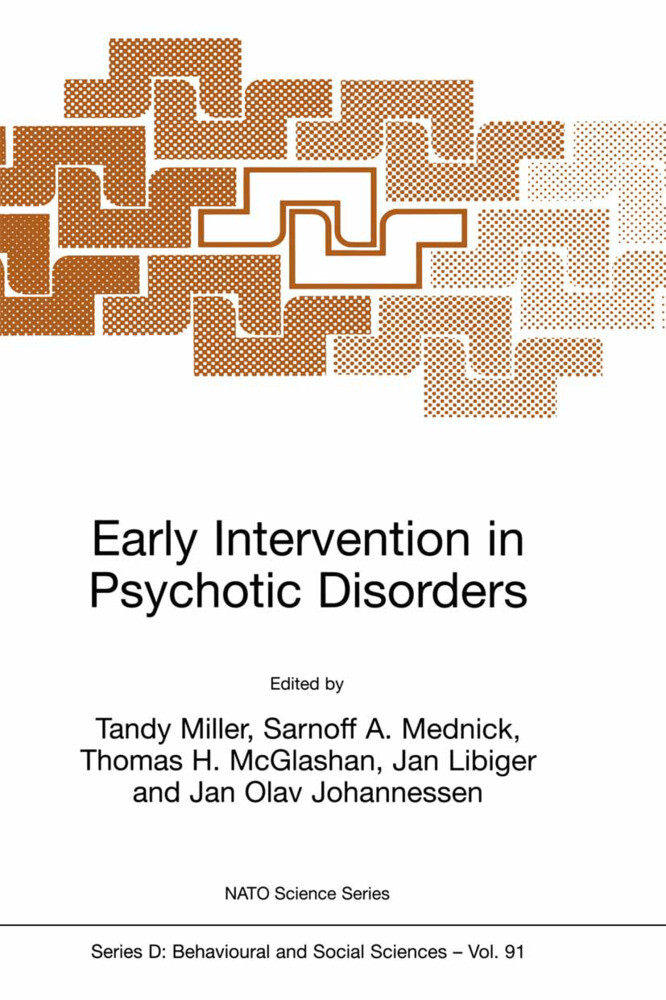 Early Intervention in Psychotic Disorders als Buch