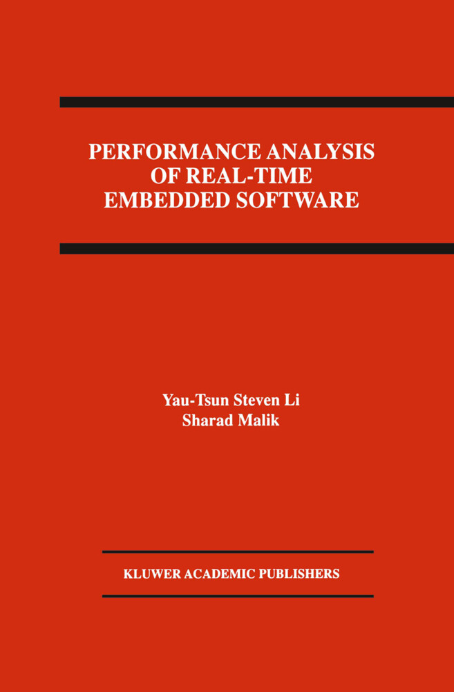 Performance Analysis of Real-Time Embedded Software als Buch