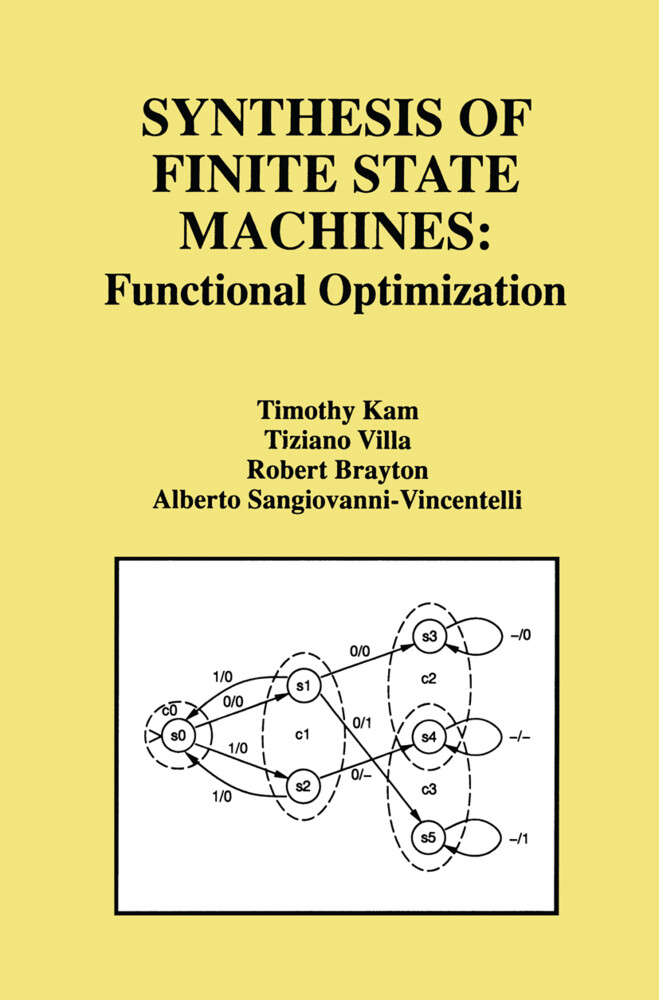 Synthesis of Finite State Machines als Buch