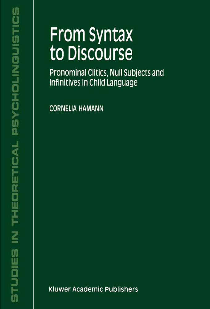 From Syntax to Discourse als Buch