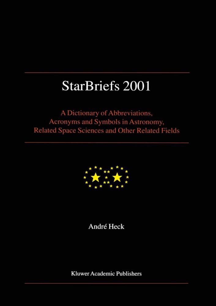 StarBriefs 2001 als Buch