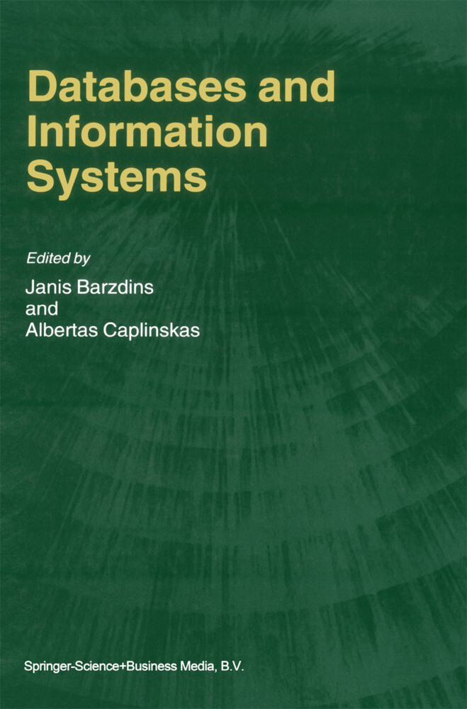 Databases and Information Systems als Buch