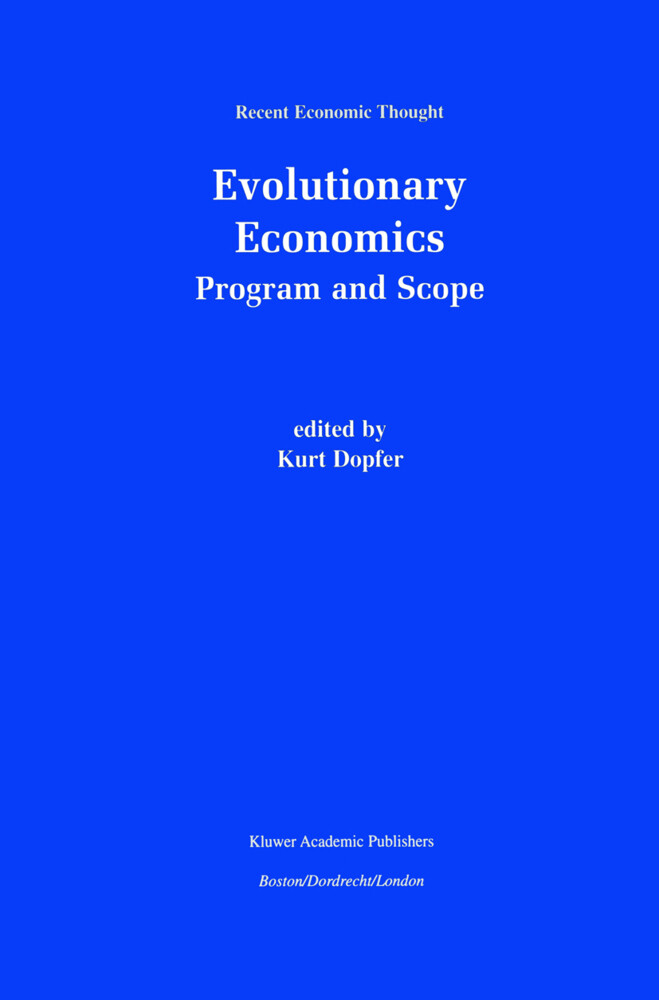 Evolutionary Economics: Program and Scope als Buch